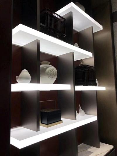 Illumination shelf