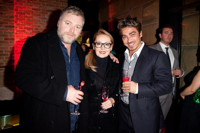 Photo Kyle Sandilands, Melissa Hoyer, John Ibrahim_2