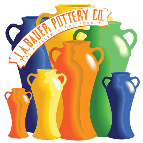 Bauer Pottery Vase Design