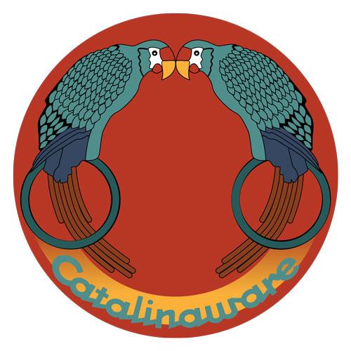 Catalina Island Kissing Birds