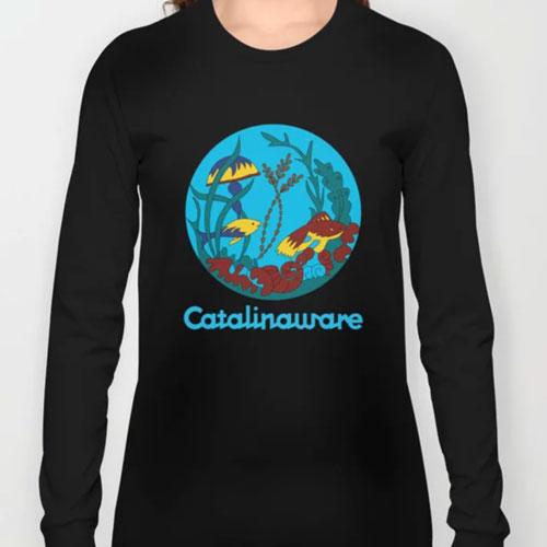 Catalina Island Undersea Tee Long