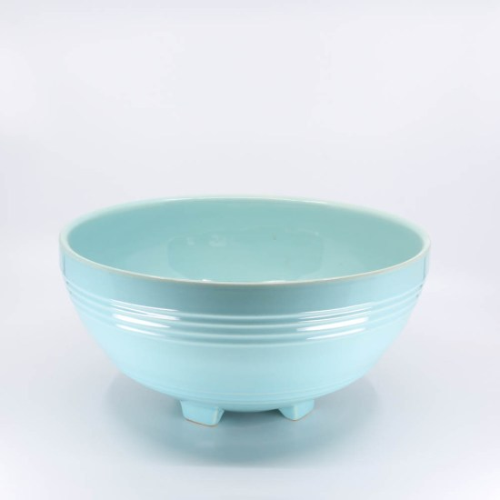 Pacific Pottery Hostessware 311 Salad Bowl Aqua