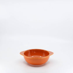 Pacific Pottery Hostessware 37 Onion Soup Bowl Red