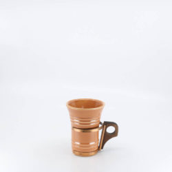 Pacific Pottery Hostessware 411 Tumbler Apricot (early)