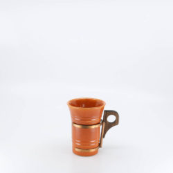 Pacific Pottery Hostessware 411 Tumbler Red