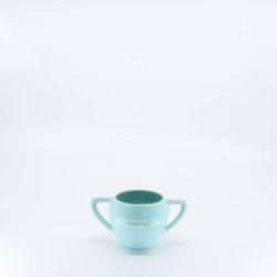 Pacific Pottery Hostessware 461 Restyled Sugar Aqua