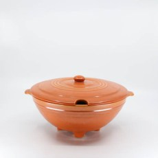 Pacific Pottery Hostessware 604 Tureen Red