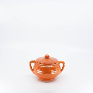 Pacific Pottery Hostessware 403 Sugar Red