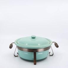 Pacific Pottery Hostessware 209 Casserole Green