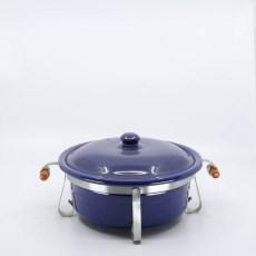 Pacific Pottery Hostessware 209 Casserole Pacblue