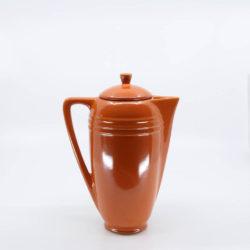 Pacific Pottery Hostessware 442 Demi Coffeepot Red