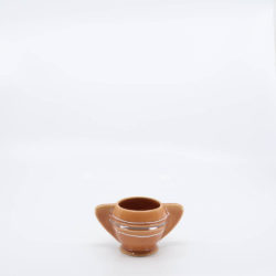 Pacific Pottery Hostessware 450 Demi Sugar Dec 2006 Apricot