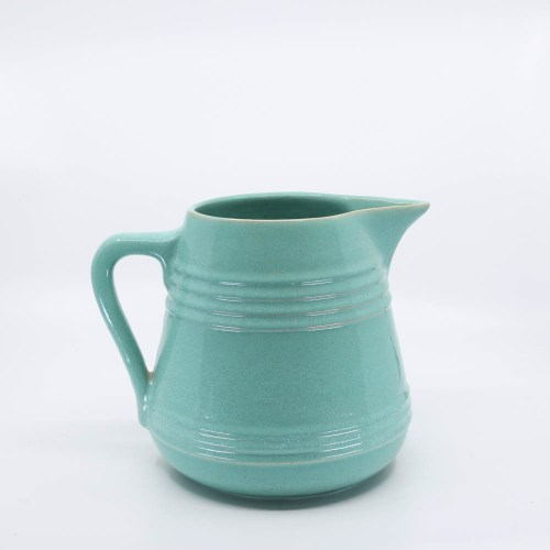 Pacific Pottery Hostessware 508 Pitcher Green