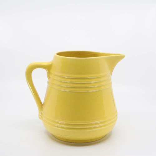 Pacific Pottery Hostessware 508 2-qt Pitcher Yellow