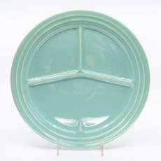 Pacific Pottery Hostessware 615 Divided Plate Green