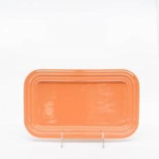 Pacific Pottery Hostessware 659 Rect Tray Small Apricot