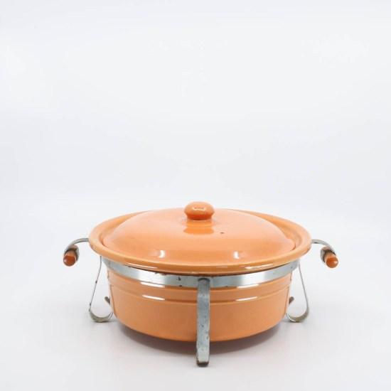 Pacific Pottery Hostessware 209 Casserole Apricot