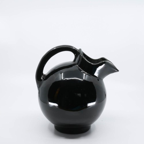 Pacific Pottery Hostessware 420 Ball Pitcher Black