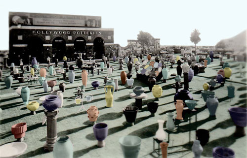 1935 San Diego Expo Hollywood Potteries