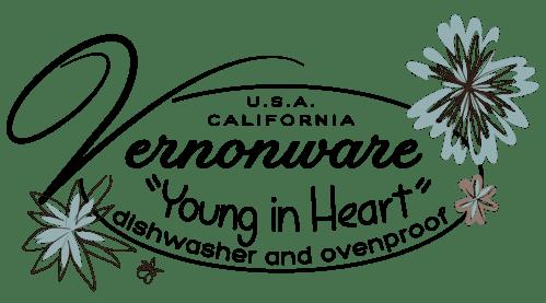 QwkDog Vernon Kilns Young in Heart Logo