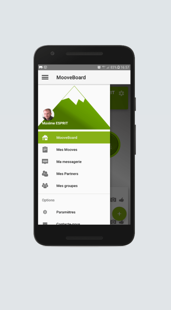 Moovenow Android iOS