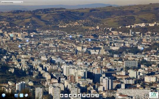 capture écran gigapixel Saint-Etienne