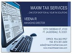 TAX PREPARATION BUSINESS CARDS WITH TAXRTRN ON COMP
