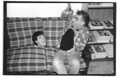Tim and Martin at MRR house 1987