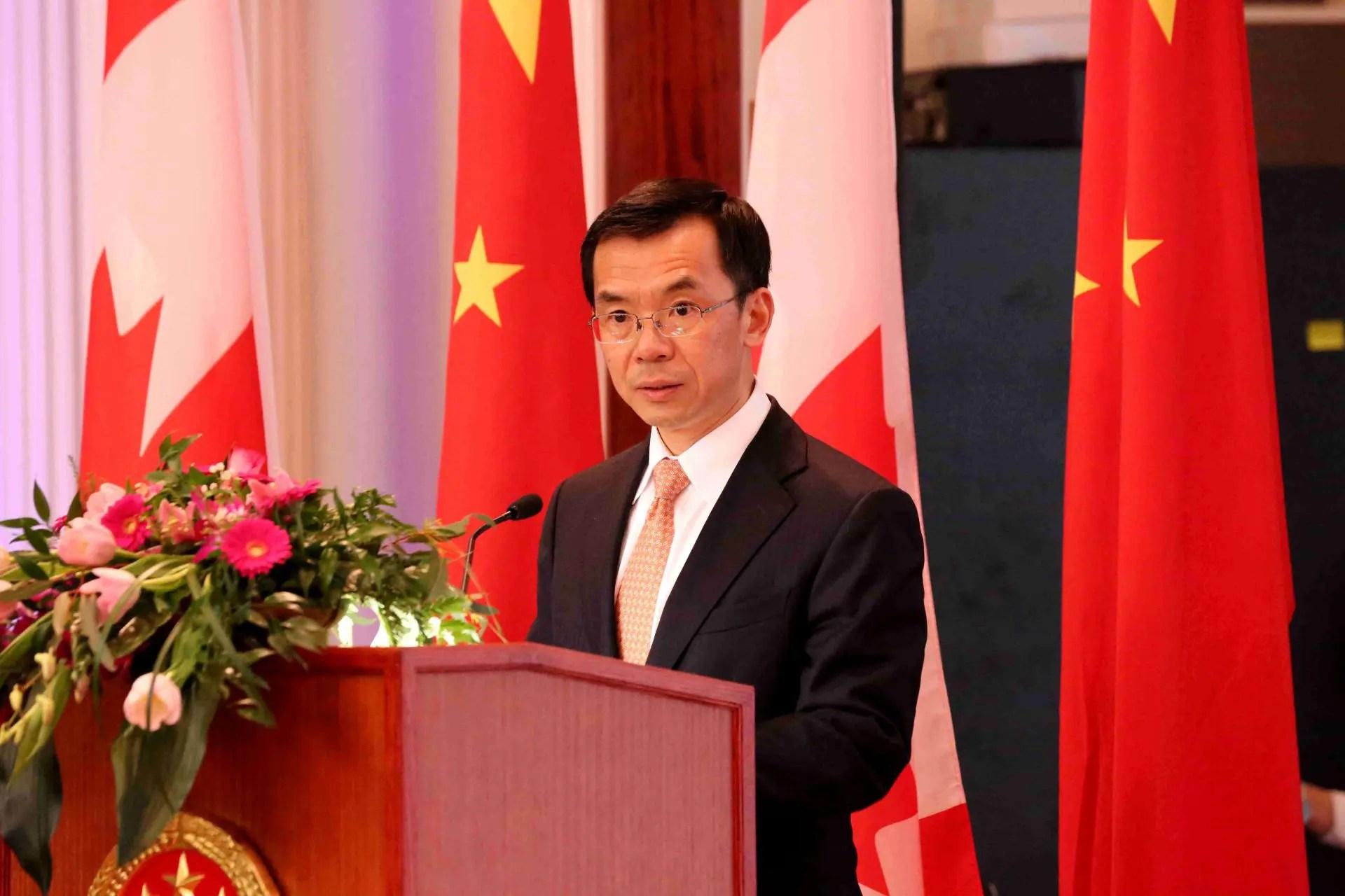 Chinese Ambassador Lu Shaye