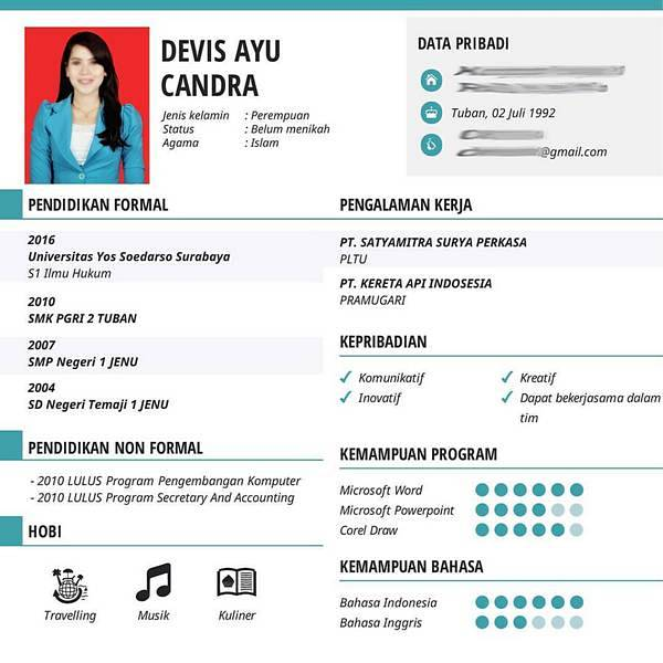 Resume Fresh Graduate Kalde Bwong Co