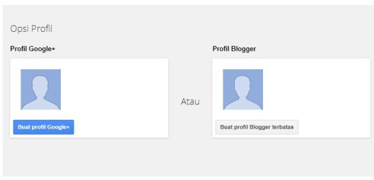 Buat Profil Google+