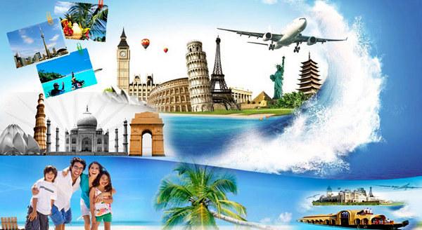 Mahasiswa berbisnis Travel Online