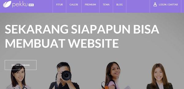 Pekku-Startup-Website-Builder