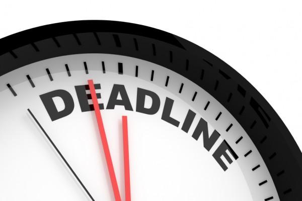 deadline tugas