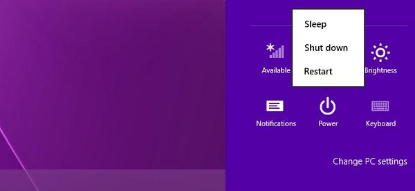 Secara Default, Hibernate Tidak Muncul di Windows 8 dan 8.1