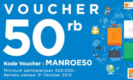 Voucher 50rb Oktober 2015