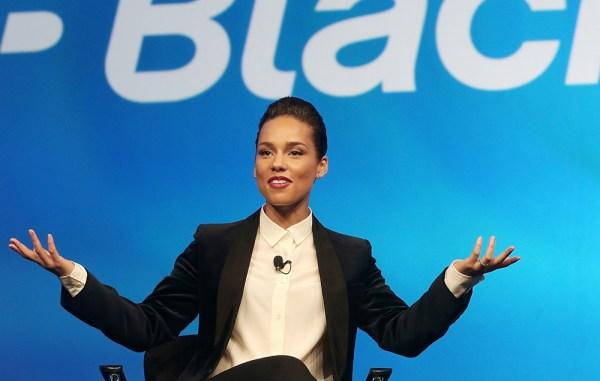 Alicia Keys Blackberry