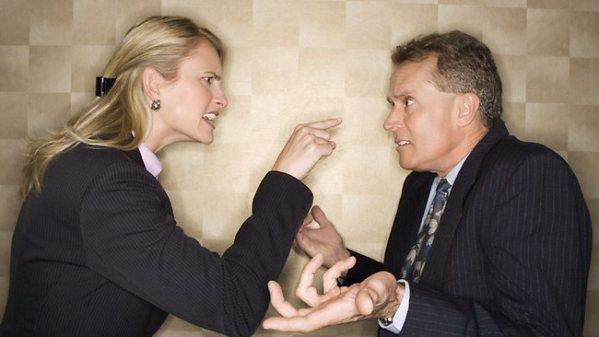 menghadapi bos pemarah
