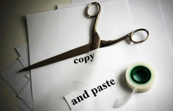 blogger copy paste