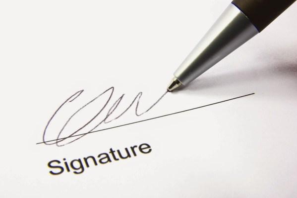 cara membuat tanda tangan