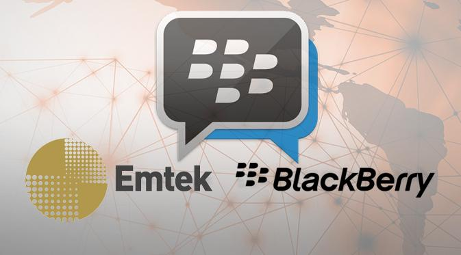 emtek akuisisi blackberry messenger