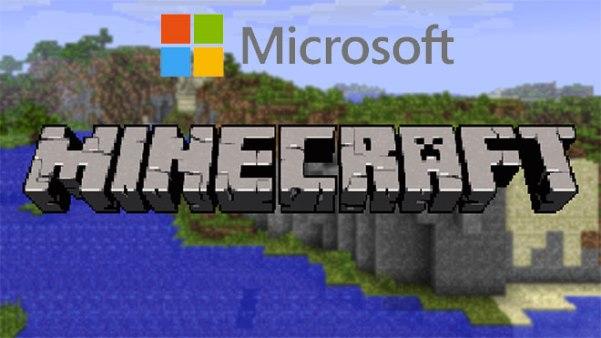 microsoft akuisisi minecraft