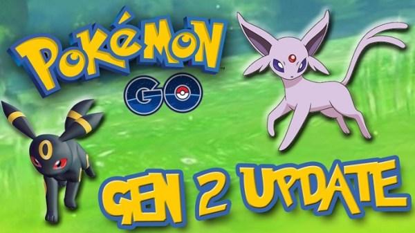 Pokemon Go Generasi 2