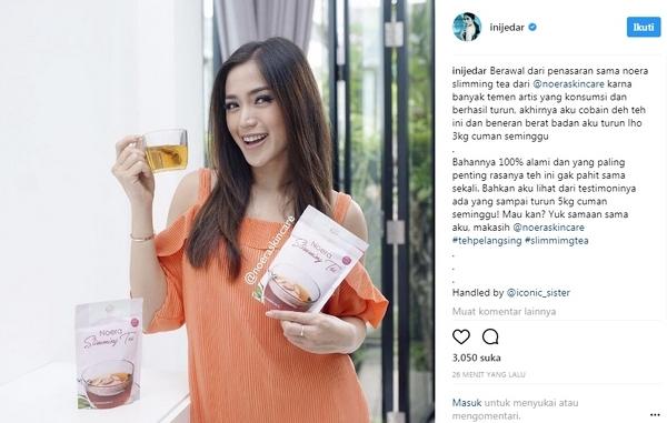 Jesica Iskandar ratu endorse