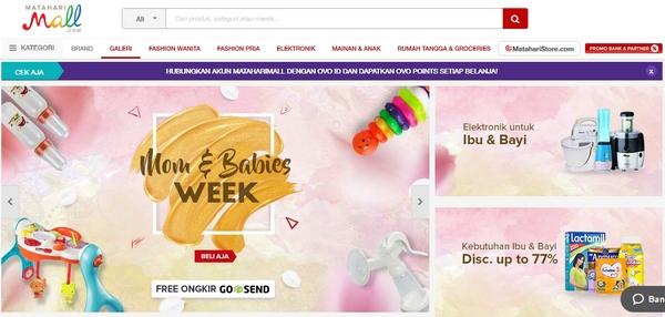 Situs Belanja Online Mataharimall.com