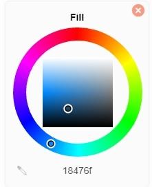 fitur diagram warna