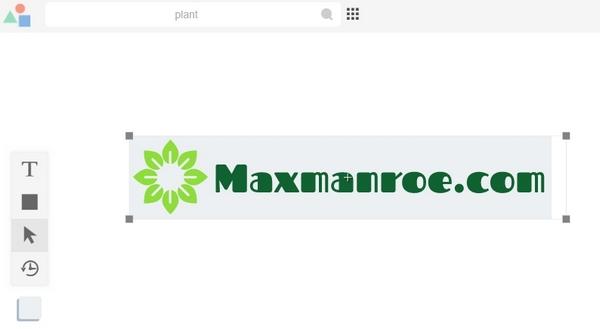 Menambahkan shape sebagai background logo