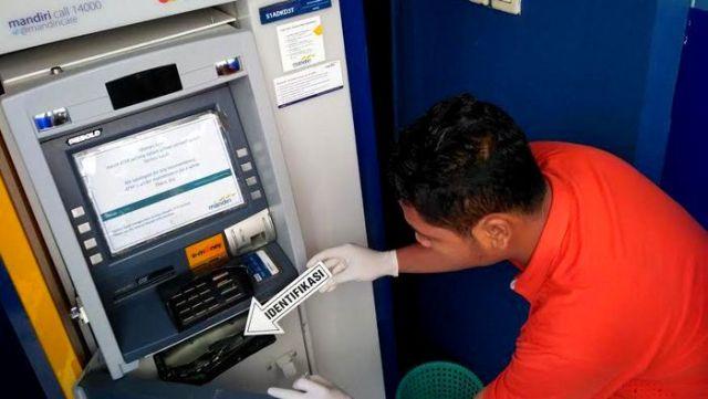 Kejahatan Skimming Mesin ATM