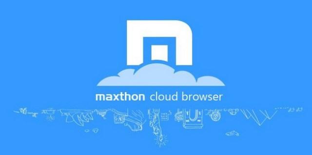 Maxthon, Aplikasi Peramban Web