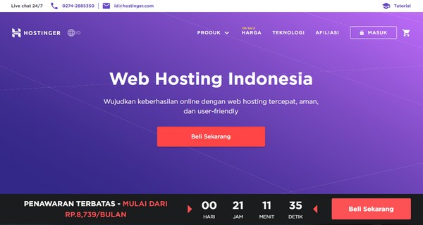 Hosting & Top Level Domain